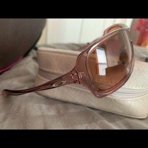 Oakley women's pink break up sunglasses new sale